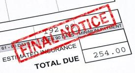 Debt Collection Section Photo Button