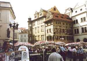 Downtown Prague Photo