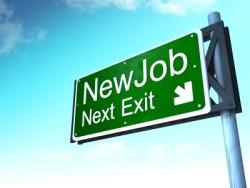 New Job Road Sign Photo