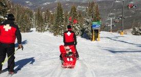 Ski Patrol Photo Button