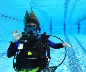 Scuba Diver Training Photo