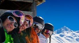Ski Resort Section Photo Button