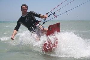 kitesurfing instructor