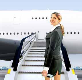 Airline Flight Crew Boarding Airplane Photo