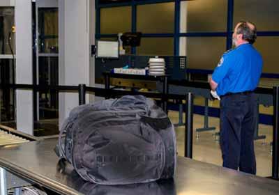 TSA Worker at Seattle SeaTac International Airport