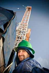Oil Platfrom Employee Photo