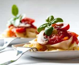 Gourmet Italian Pasta Meal Photo
