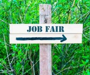 Job Fair Sign Photo