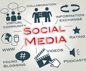 Social Media Chart Graphic