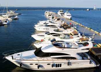 Lake Michigan Marina Photo