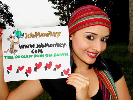 I Love JobMonkey Photo