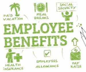 List of Employee Benefits Graphic