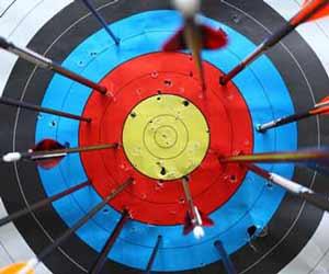 Target Board but No Bullseye Image