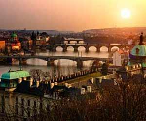Charles Bridge in Prague Photo