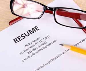 Printed Resume Image