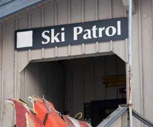 Ski Patrol Building Photo