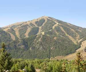 Sun Valley Bald Mountain Photo