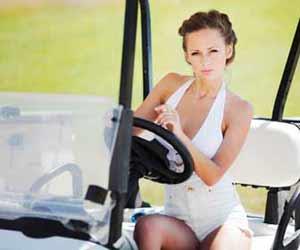 Golf Beverage Cart Attendant