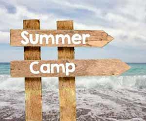 Summer Camp Sign