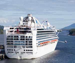 Norwegian Cruise Ship Docked