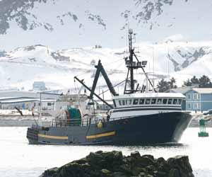Alaska Factory Trawler in Dutch Harbor