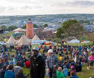 Glastonbury Music Festival is a Popular Festival for the U.K.