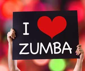 I Love Zumba Sign