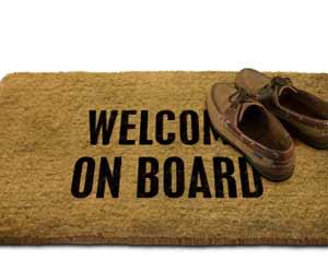 Welcome On Board Cruise Ship Mat