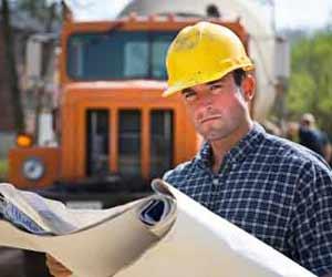 civilian cement truck contractor in iraq