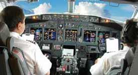 Pilots Inside Cockpit Photo Button
