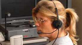 Dispatchers are Needed to Give Drivers Real Time Information Photo Button