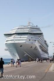 Staff Boarding Cruise Ship image