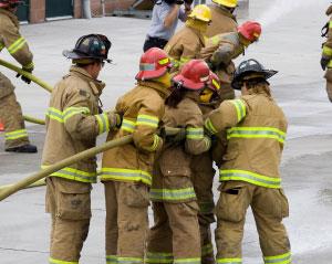 firefighter training photo