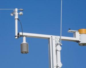 meteorologist weather tracking equipment photo
