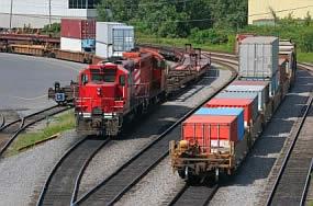 railroad yard photo