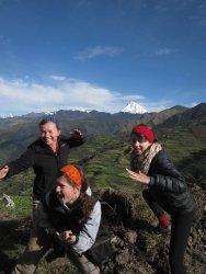 Students in Peru photo